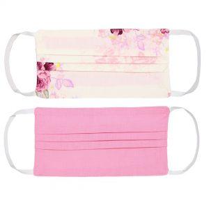 Mondkapje flowers pink